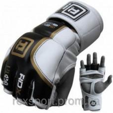 Купить Перчатки ММА RDX PRO GOLDEN размер L недорого