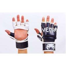 Купить Перчатки для смешанных единоборств MMA FLEX VENUM UNDISPUTED VL-5790-BK чёрные  недорого