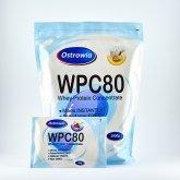 Купить Протеин Ostrowia wpc 80 1 кг  недорого