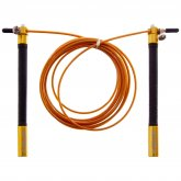 Купить Скакалка профессиональная  ZELART со стальным тросом скоростная с подшип. FI-5345 l-3м, d-2,6мм недорого