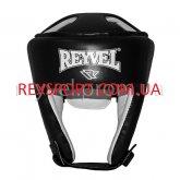Купить Шлем боксёрский REYVEL винил чёрный тип 2   недорого