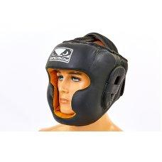 Купить Шлем боксерский кожаный BAD BOY VL-6622 черный недорого