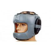 Купить Шлем боксерский с бампером Кожа EVERLAST BO-5240-BK  недорого