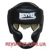 Купить Шлем REYVEL Тренировочный кожа чёрный недорого