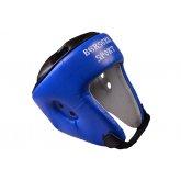 Купить Шлем турнирный Berserk-sport (кожа) blue размер L недорого