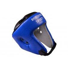 Купить купить Шлем турнирный Berserk-sport (кожа) blue размер L недорого