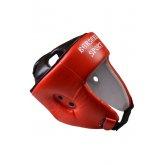 Купить Шлем турнирный Berserk-sport (кожа) red  недорого