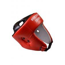 Купить купить Шлем турнирный Berserk-sport (кожа) red недорого